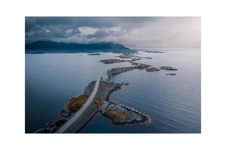 Hier würdet ihr eigentlich ein unglaubliches Drohnenbild von der Atlantic Ocean Road sehen,. Ich hoffe, nächstes Mal klappt es.