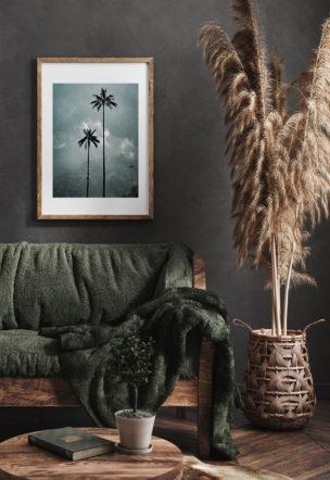 Prints Wax Palm Trees
